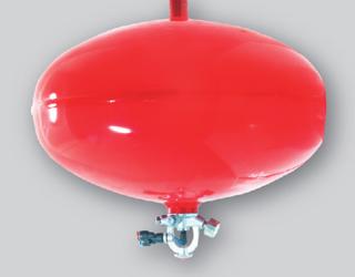 贮压悬挂式超细干粉自动灭火装置